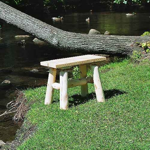 - Our Outdoor Log Furniture Products