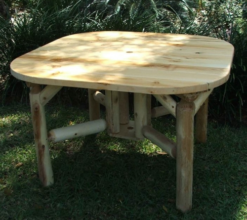 Our Outdoor Log Furniture Products