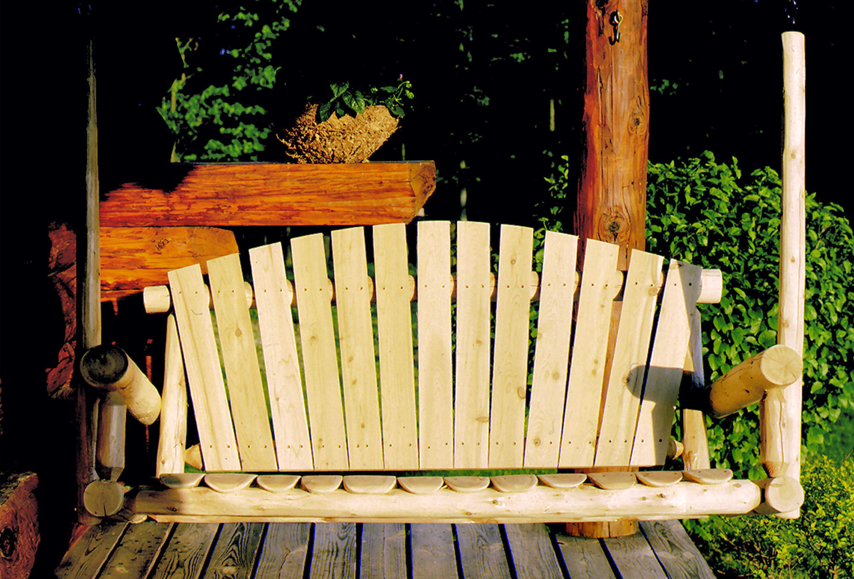 home outdoor curved inch bench cushion ideas design