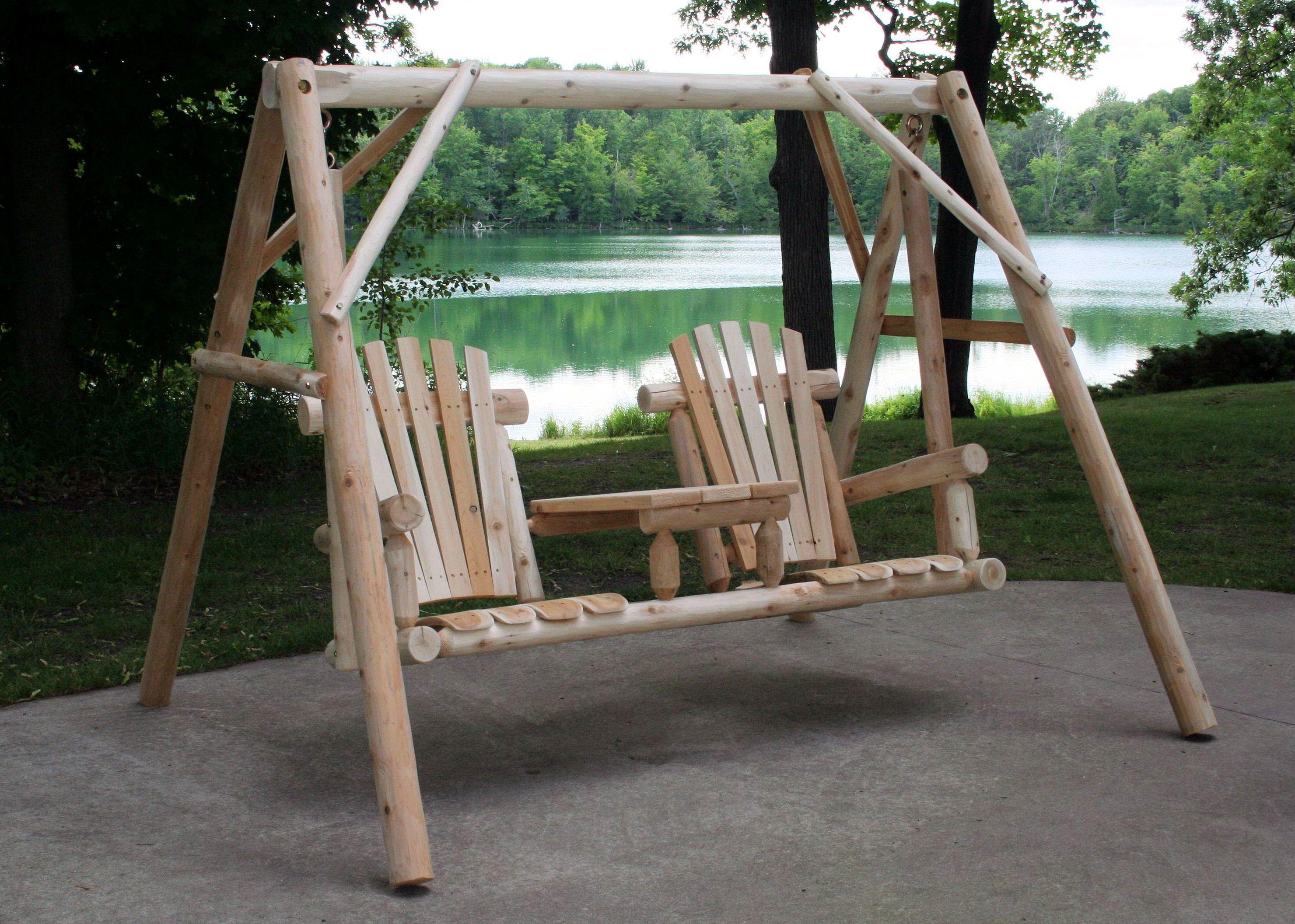 Tete A Tete Porch Swing Lakeland Mills