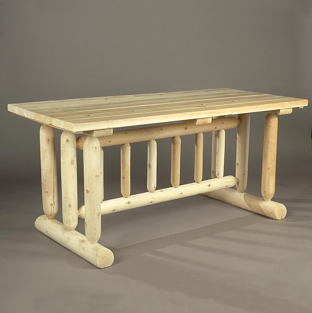 cedar looks harvest family dining table  lakeland mills