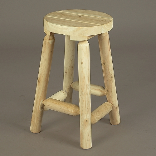 "Cedar Looks 24"" Bar Stool can be used in a seating arrangement!"